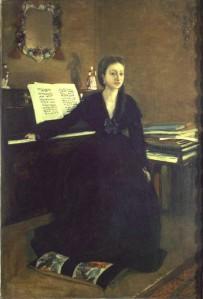 Degas, Madame Camus at the Piano, 1969